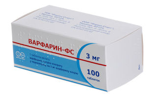 Противопоказания Варфарина, инструкция по применению и взаимодействие с другими лекарствами